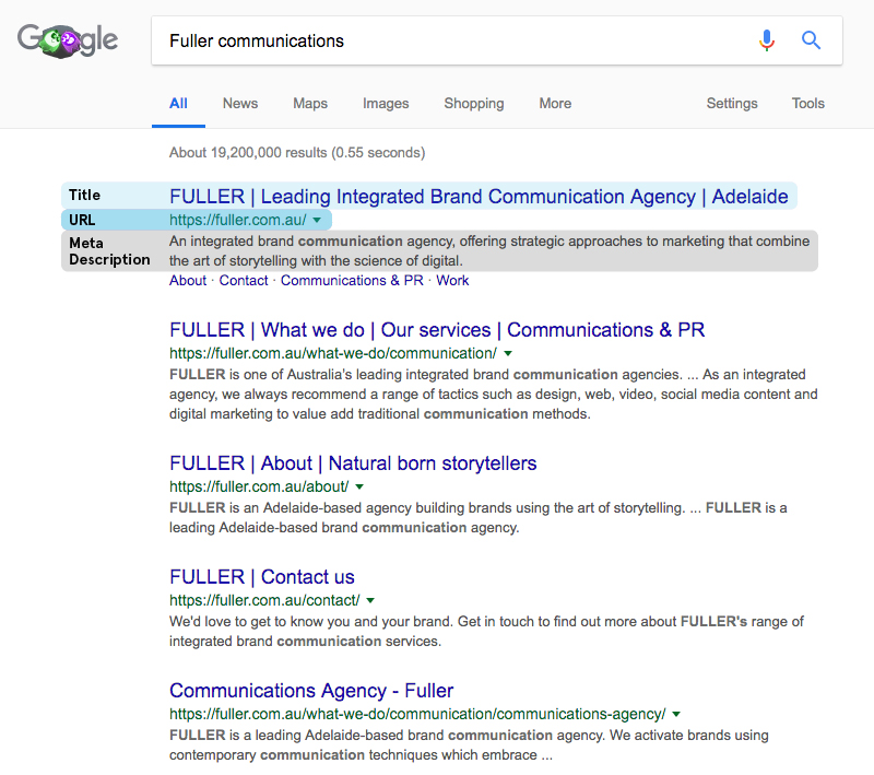What you need to know about SEO | Blog | Fuller Brand Communication